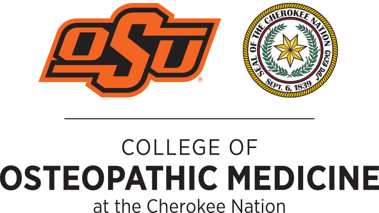OSU COM and Cherokee Nation Logo
